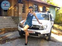 Aleksandra i Dacia Duster