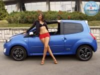 Andrijana i Twingo RS