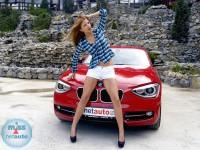 Anja i BMW serije 1