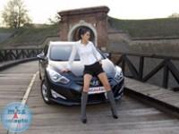 Dragoslava i Hyundai i40