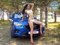 Maja i Mazda CX5