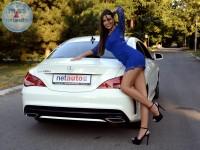 Milica i Mercedes CLA