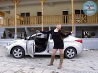 Sandra i Hyundai Elantra