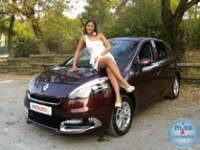 Tamara i Renault Scenic