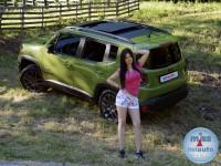 Tijana i Jeep