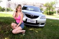 Irena i Mazda 3