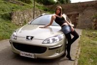 Milica i Peugeot 407SW