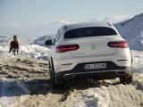 Mercedes-Benz GLC i GLE na snegu