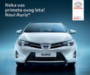 Neka vas primete ovog leta. Nova Toyota Auris