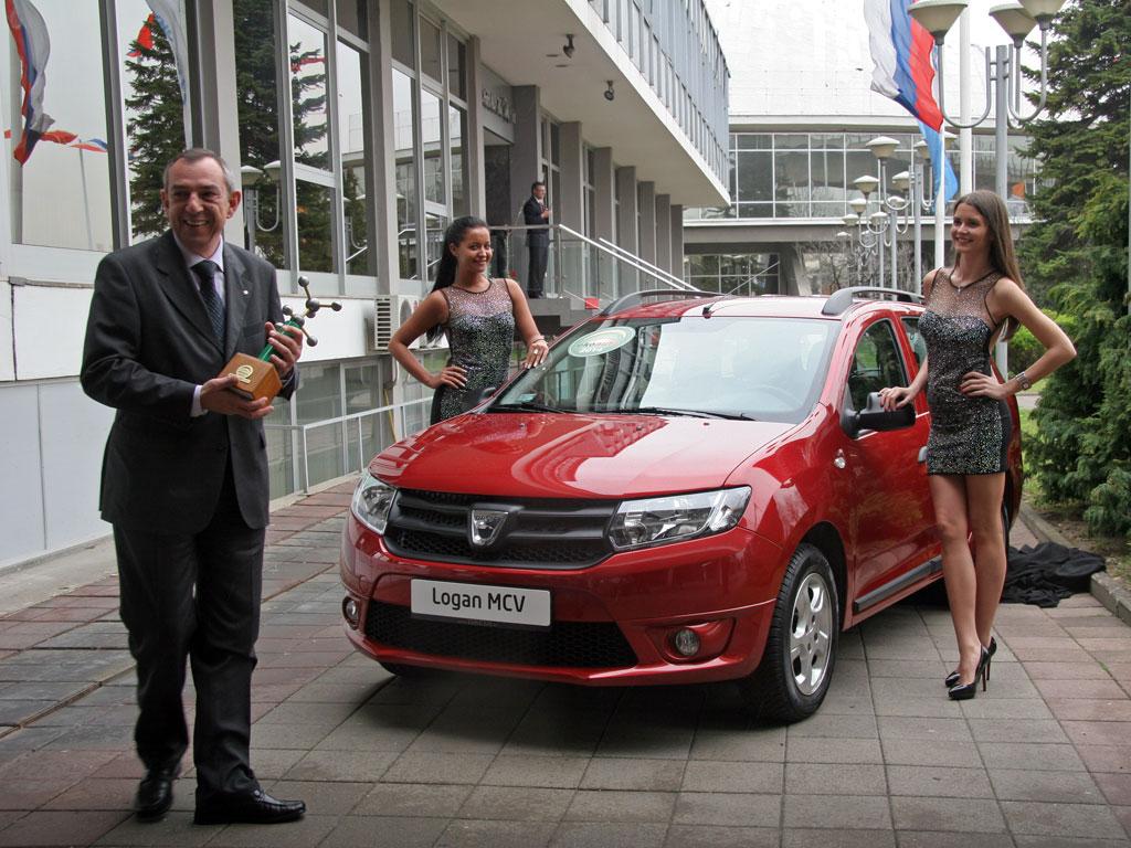 Milan Belin i Dacia Logan MCV