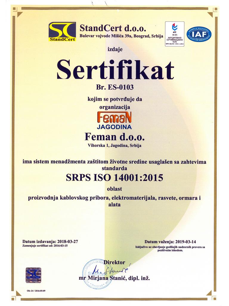 Feman-ISO-14001