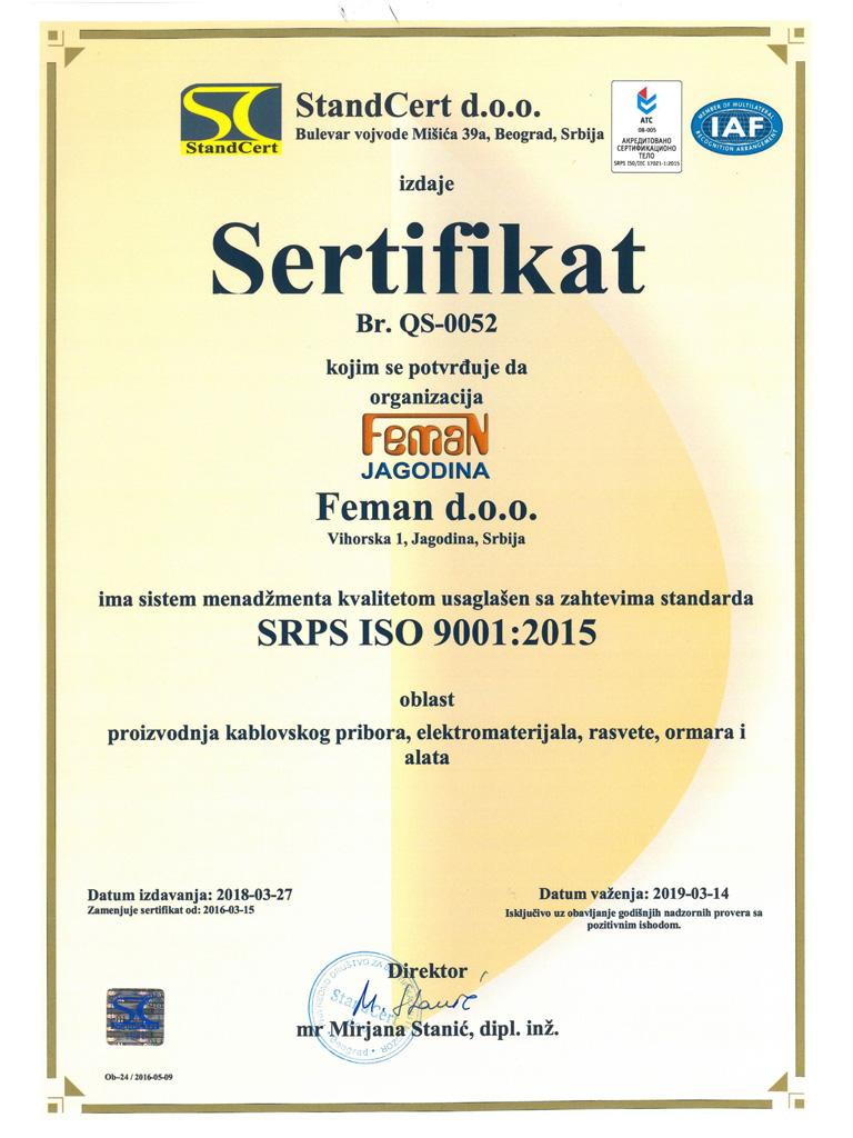 Feman-ISO 9001