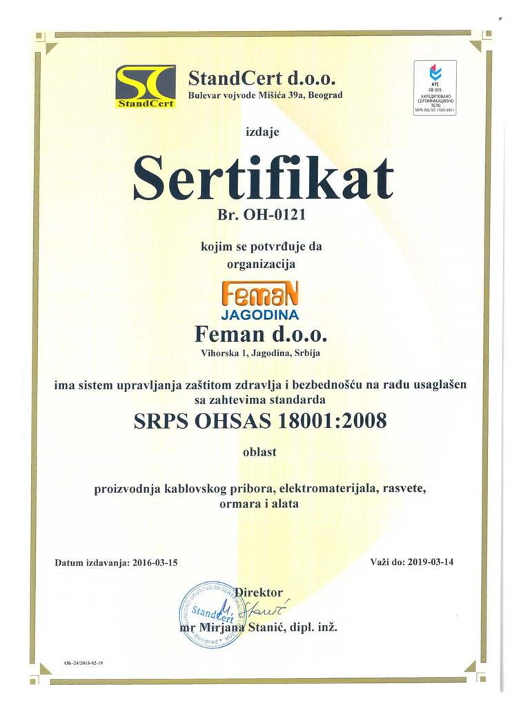 Feman-OHSAS 18001