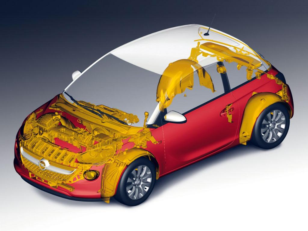 Opel Adam i recikliranje