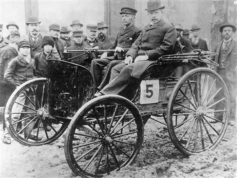 Chicago Times Hearld race 1895.