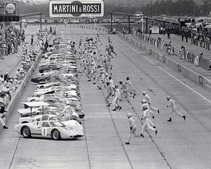 Le Mans classic start