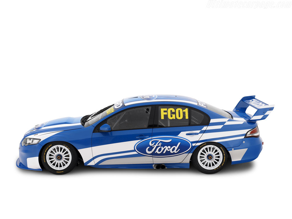 V8 Supercars-Ford Falcon, 2012.