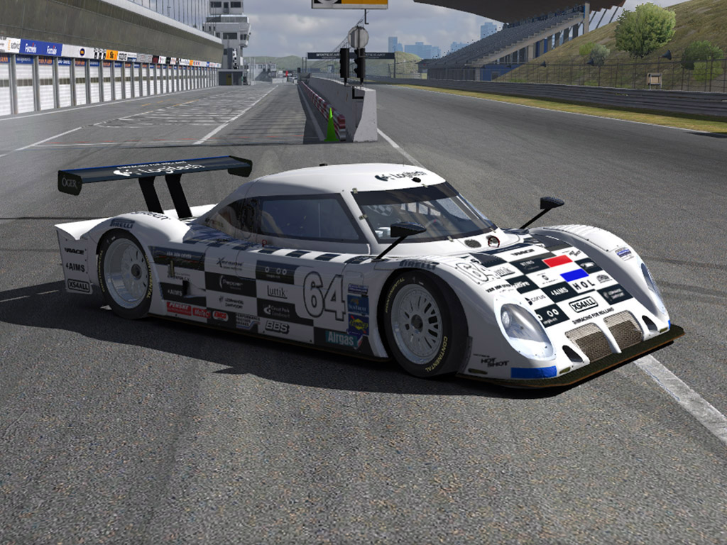 Grand Am Riley Daytona prototype-2011.