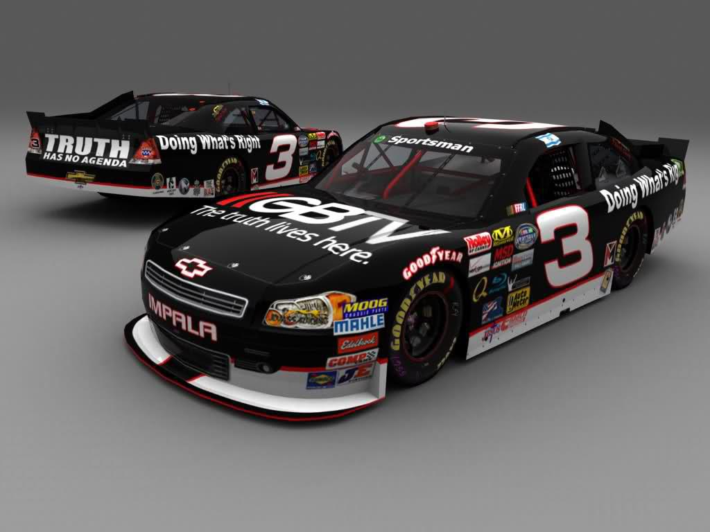 NASCAR-Sprint Cup Series   Chevrolet Impala-2012