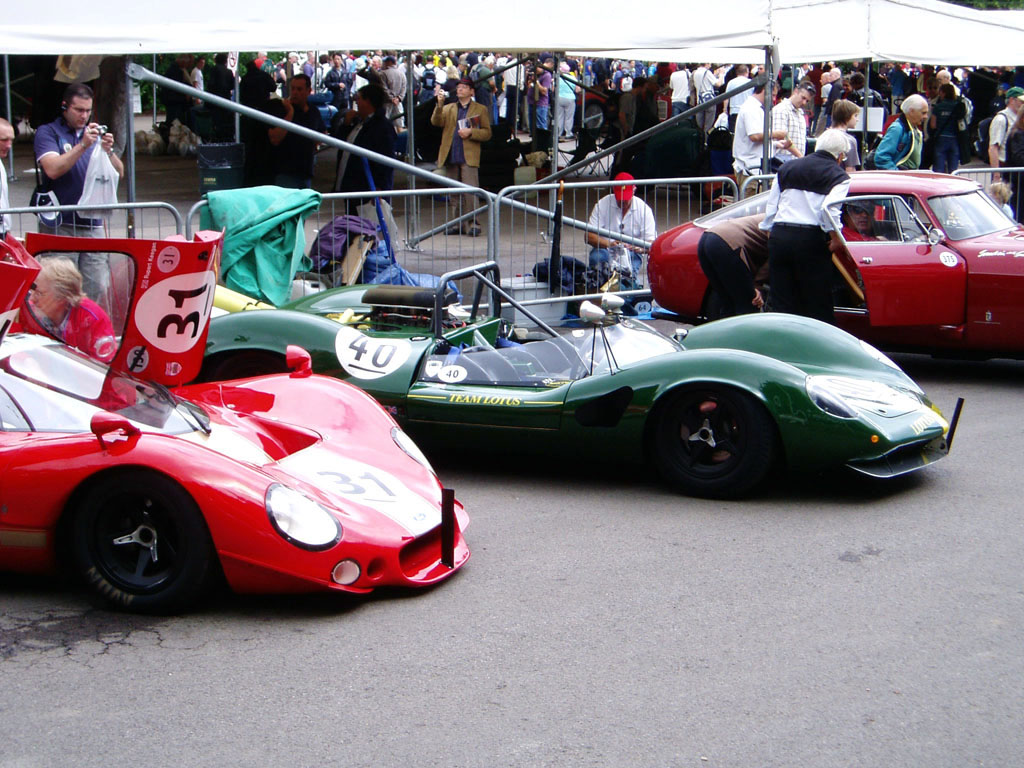 Goodwood Festival of Speed-Lotus40 exibition-2011.
