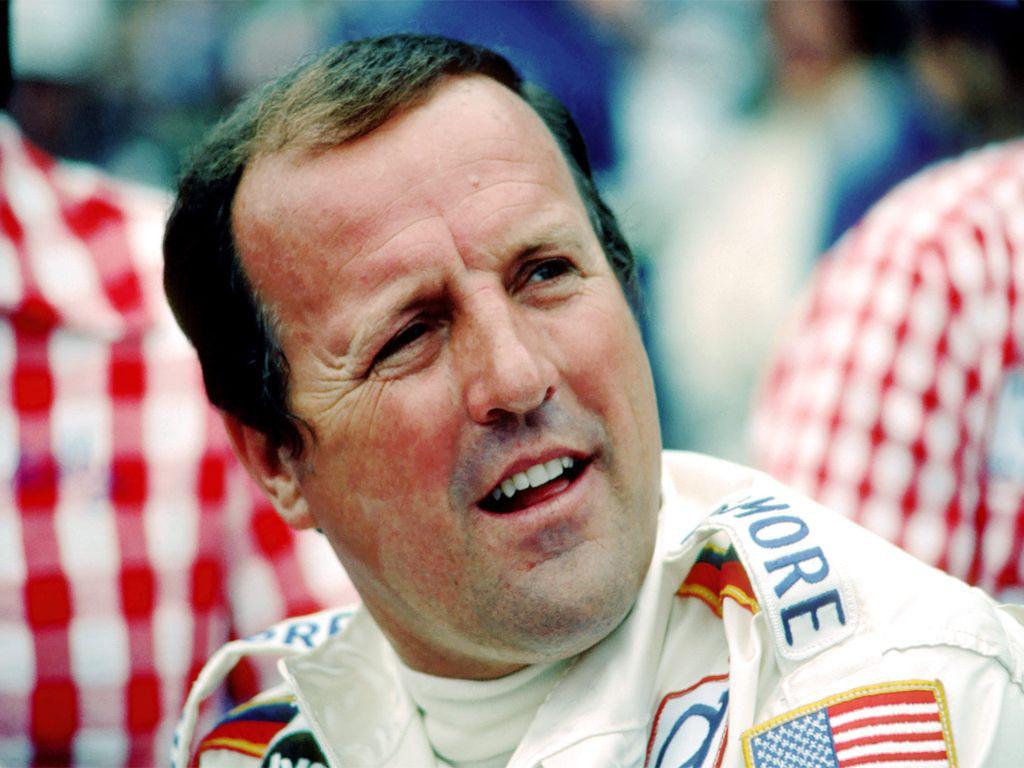 Racing driver IndyCar-AJ Foyt-1974.
