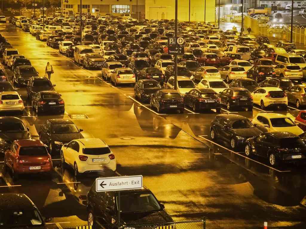 Parking bečkog aerodroma Švehat