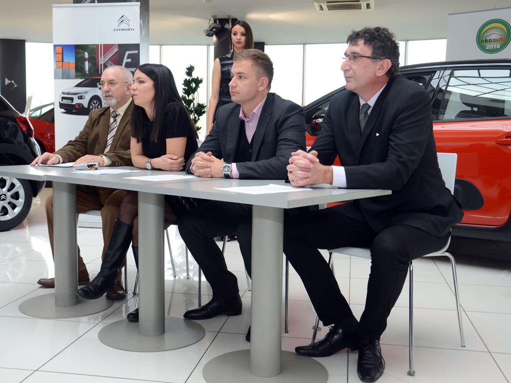 Zlatko Mitić, Nevena Đukić, Filip Radović i Nebojša Ćulum