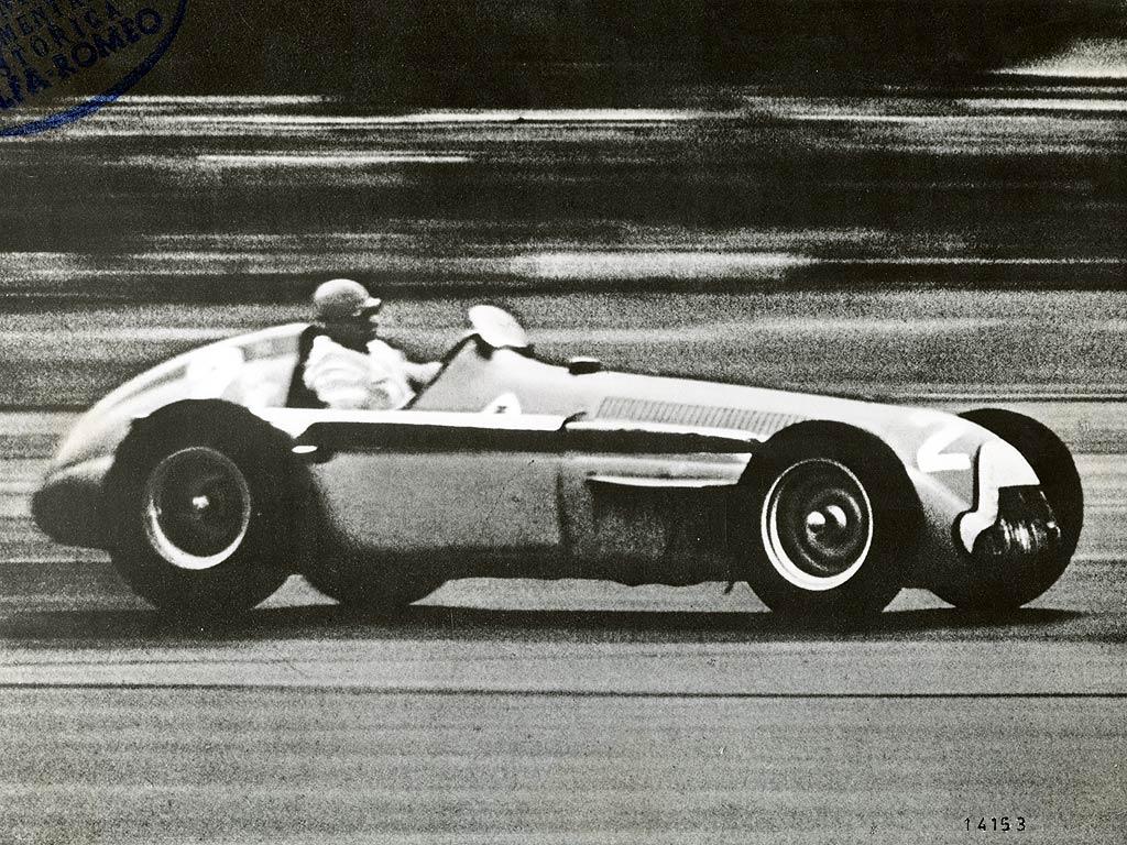 Gran Premio di Silverstone 1950.: Nino Farina vozi Alfa Romeo 158