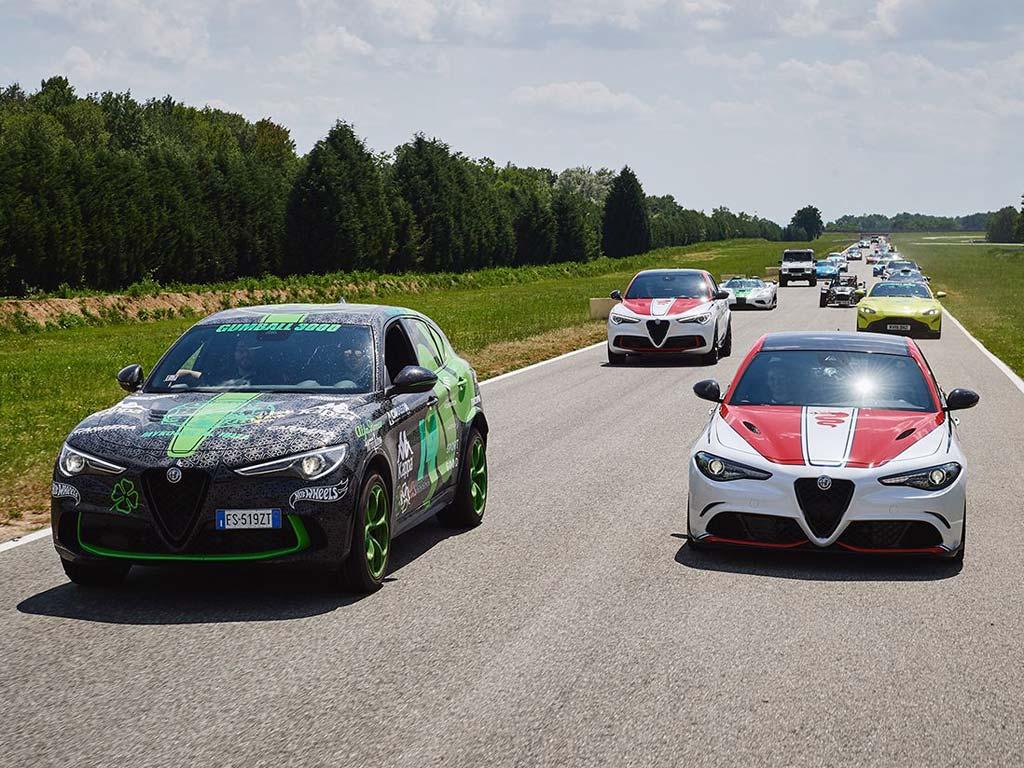 Alfa-Romeo Gumball 3000