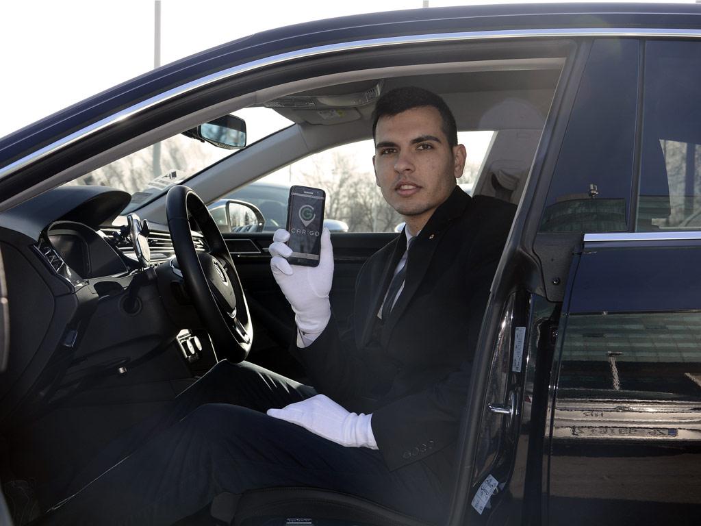 CarGo vozač u Volkswagenu Arteon