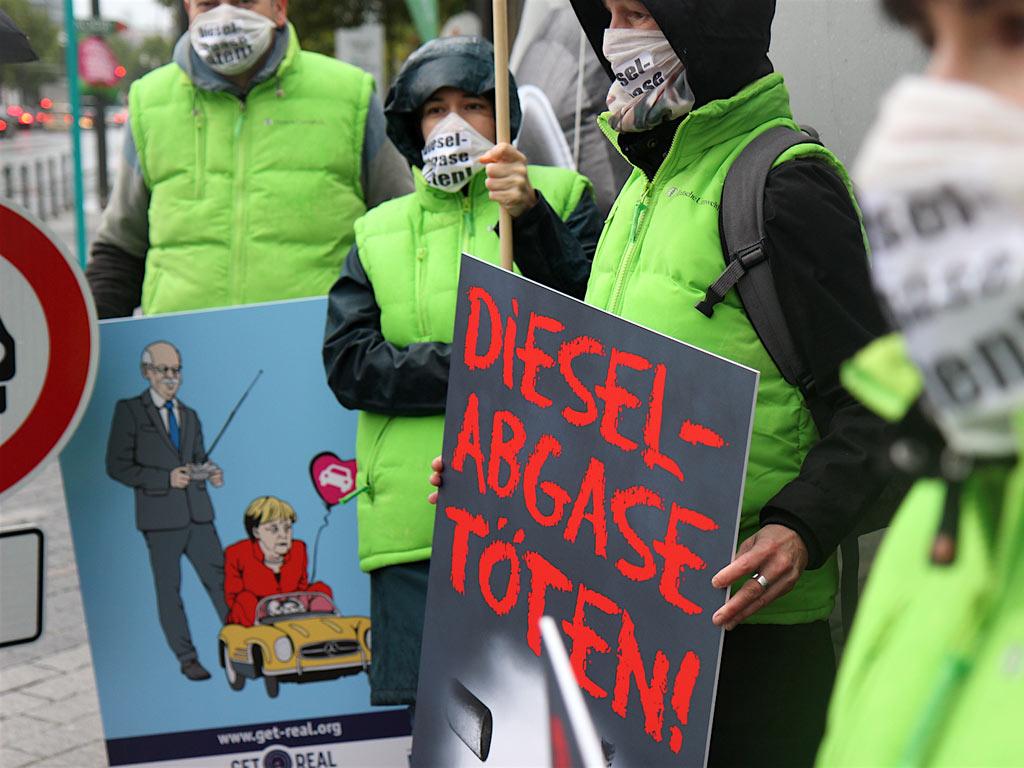 Nemci za zabranu dizel automobila