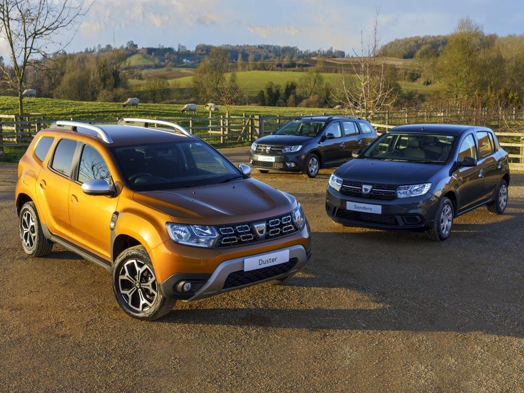 Dacia Duster, Sandero i Logan MCV