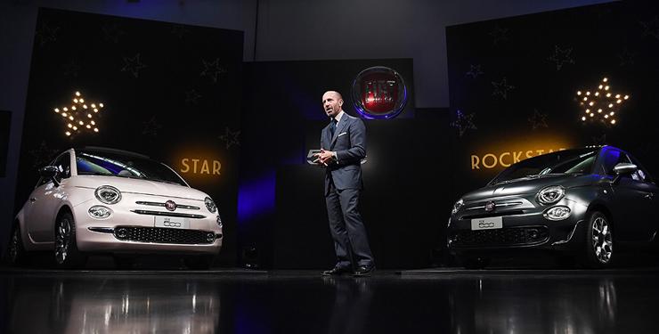 Fiat 500 Star&Rockstar