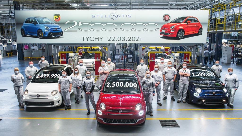 Fiat 500 - 2.500.000
