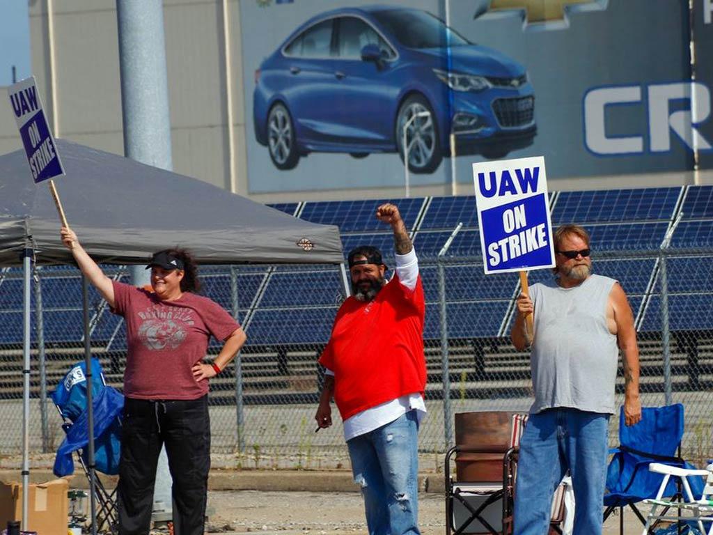 General Motors - štrajkači