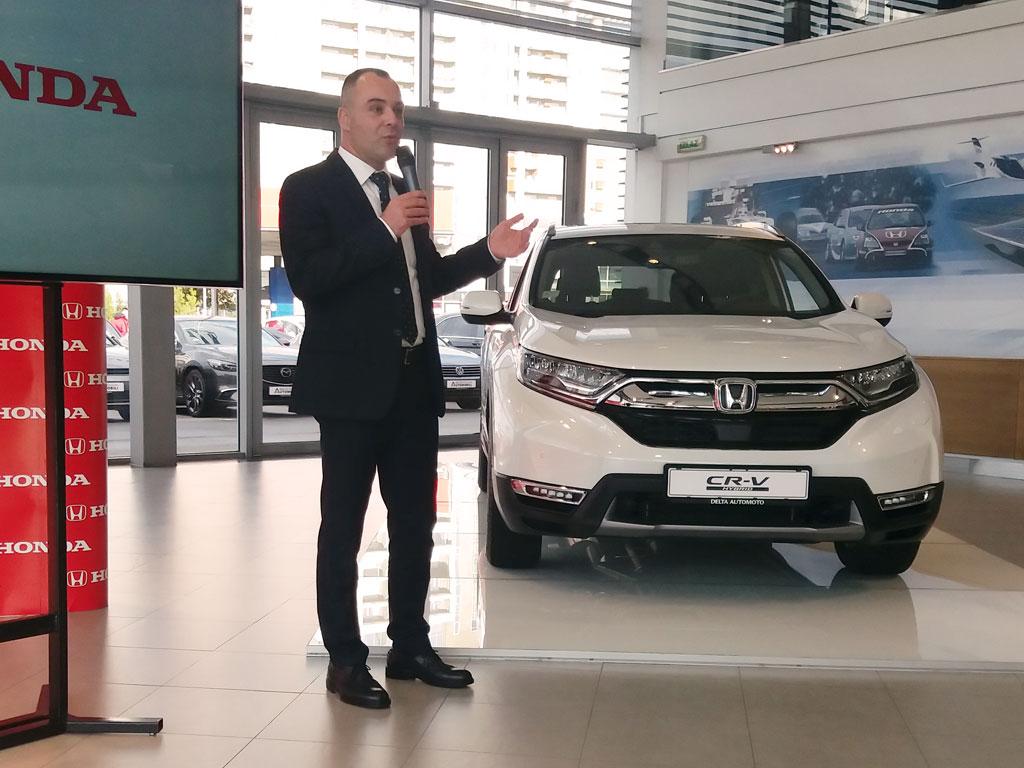 Honda CR-V Hybrid i Stevan Kristić