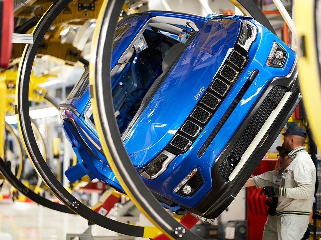 Jeep Compass - proizvodnja u fabrici Melfi