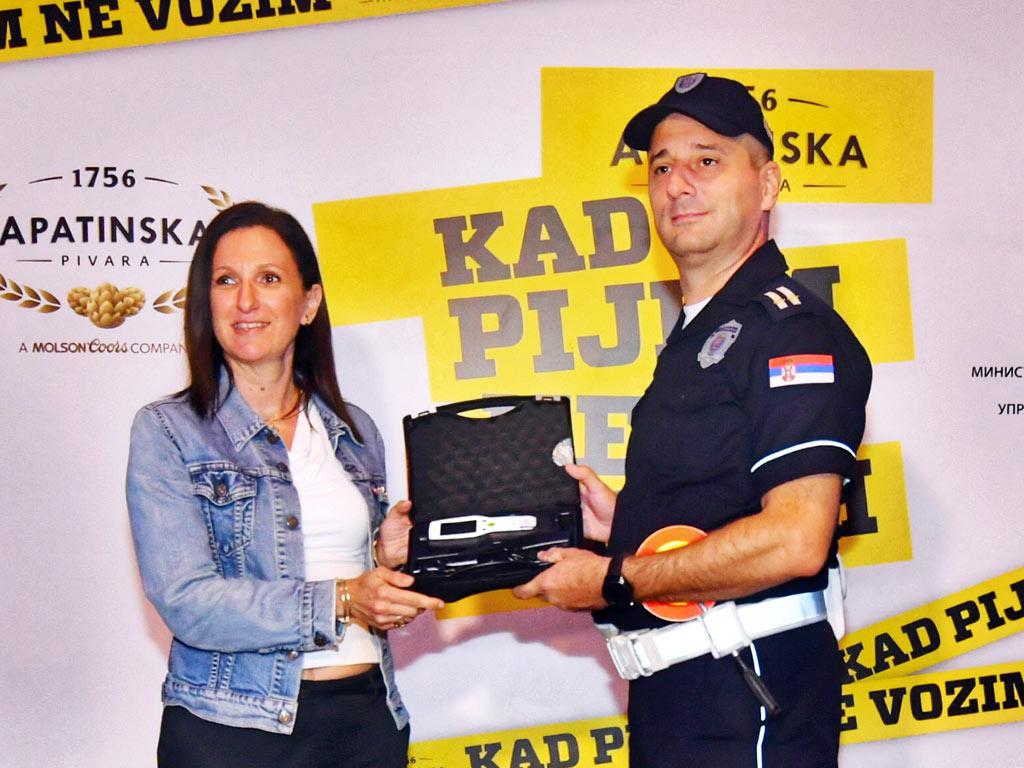 Olivera Nikodijević i Boban Milinković