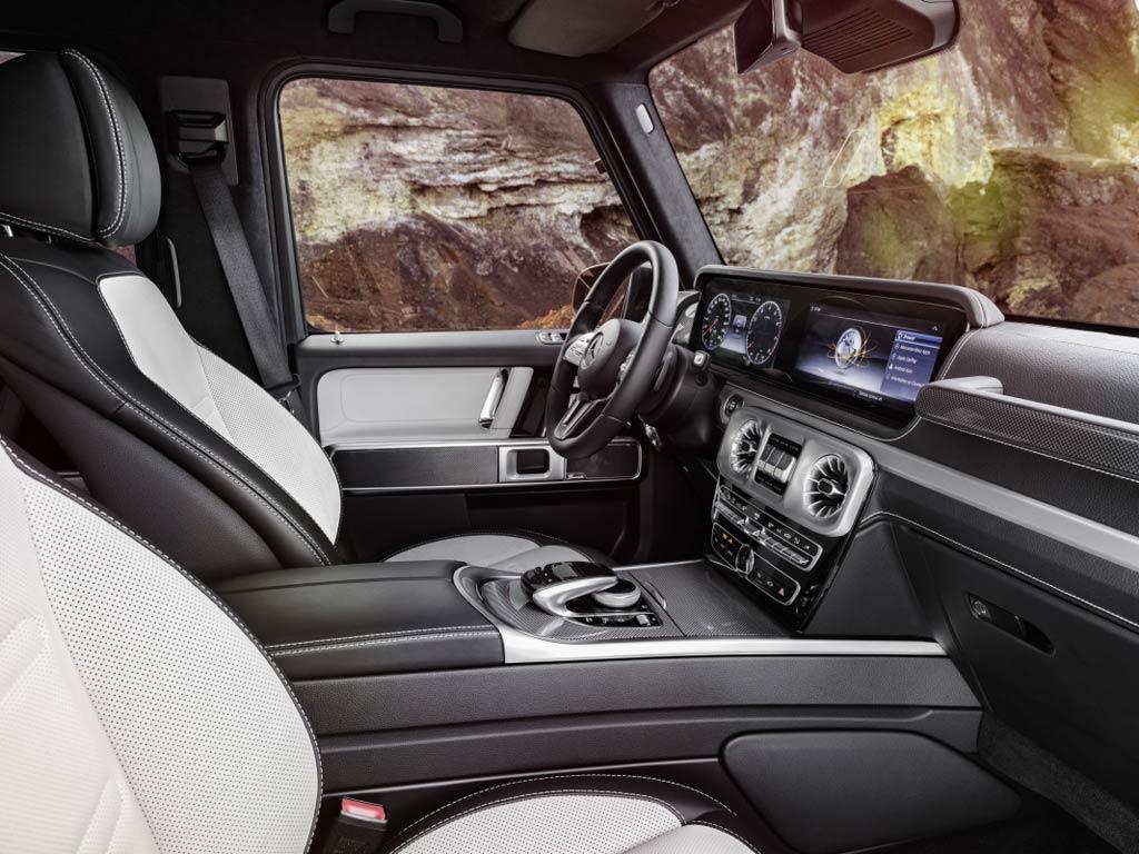 Mercedes-Benz G-Klasa - unutrašnjost