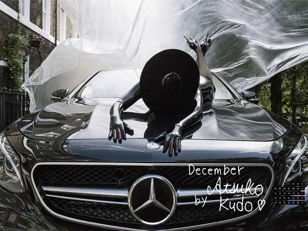 Kalendar Ona je Mercedes