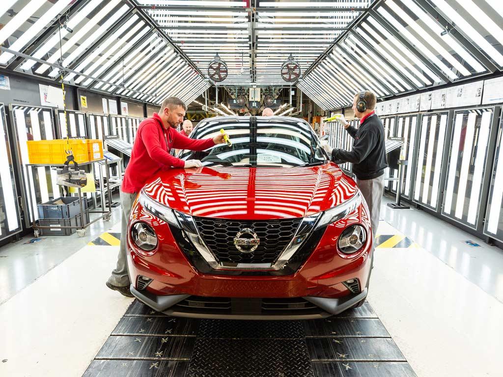 Nissan Juke proizvodnja