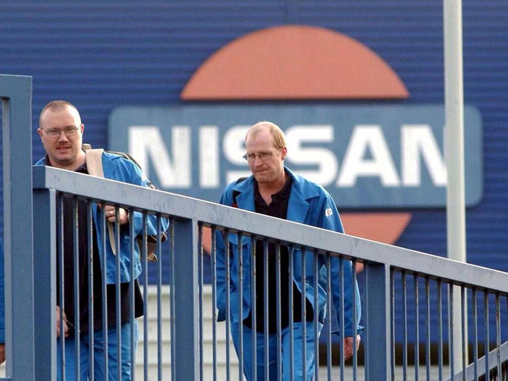 Radnici u Nissanovoj fabrici