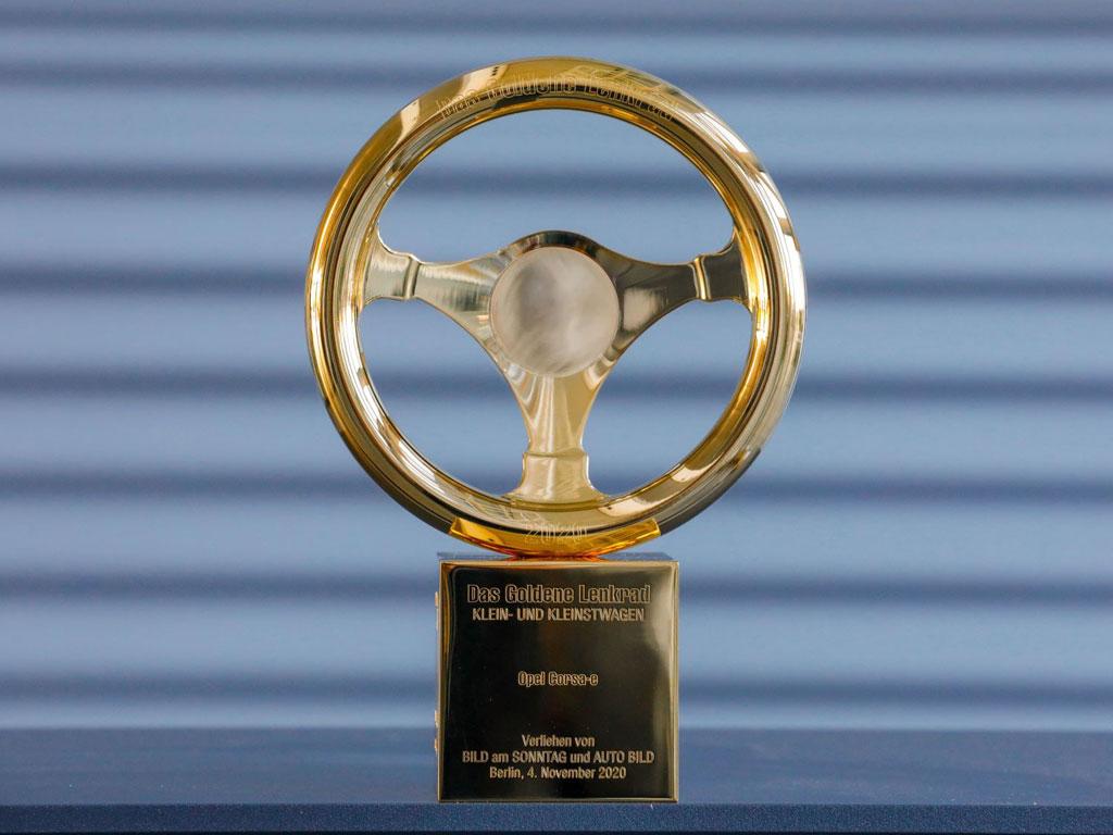 Opel Corsa-e  - Zlatni volan 2020