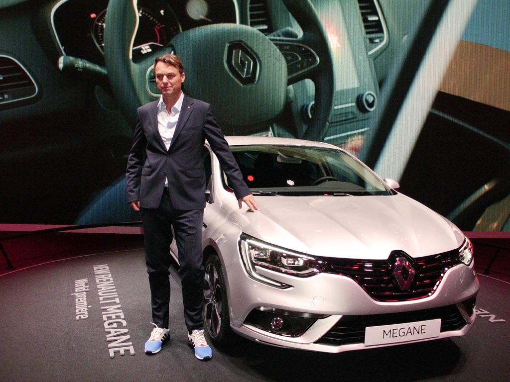 Van Den Acker i Renault Megane