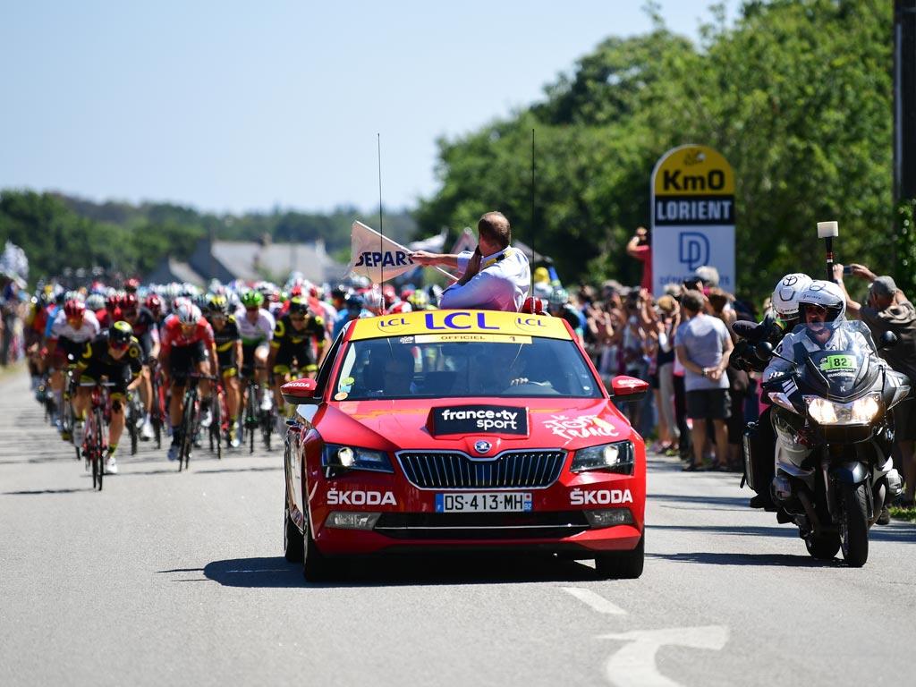 Skoda-Tour de France 2019.