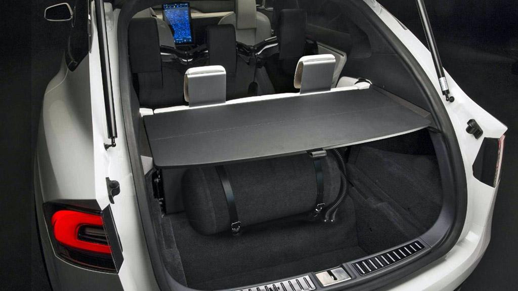 Tesla X P75D E-CNG