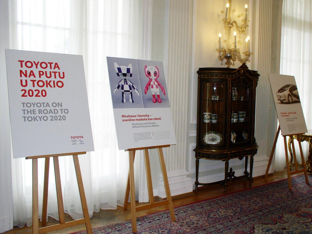Toyota izložba u Belom dvoru