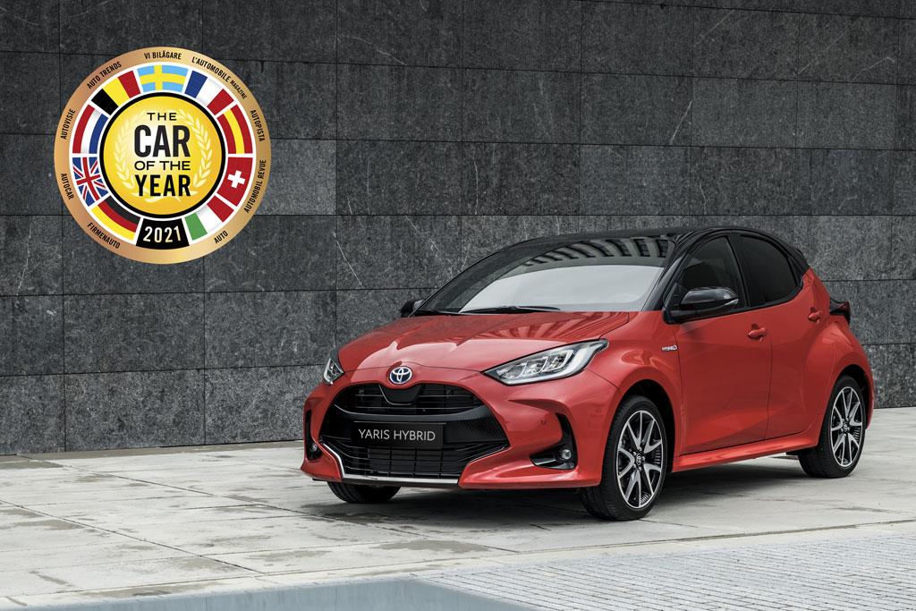Toyota Yaris COTY 2021