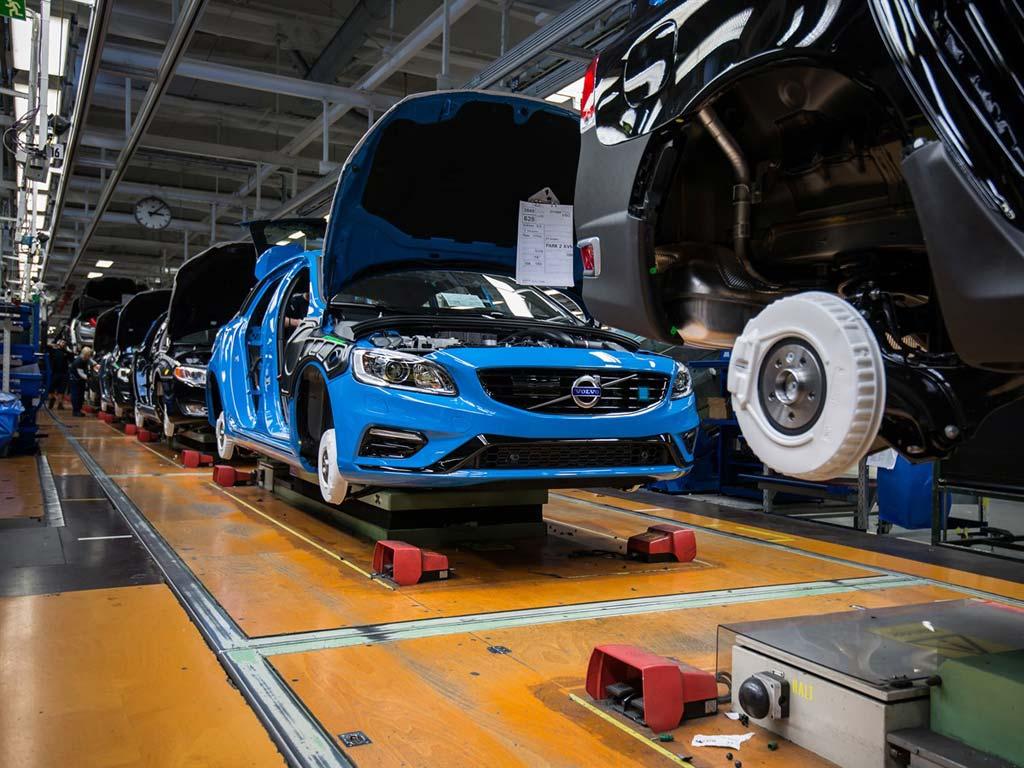 Volvo fabrika