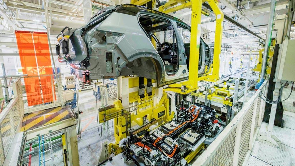 Volvo XC40 - proizvodnja